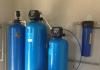Система очистки воды из скважины Clack (США) для загородного дома на 1.5м3 в час, air-1054, hfi-1354, hfs-1054